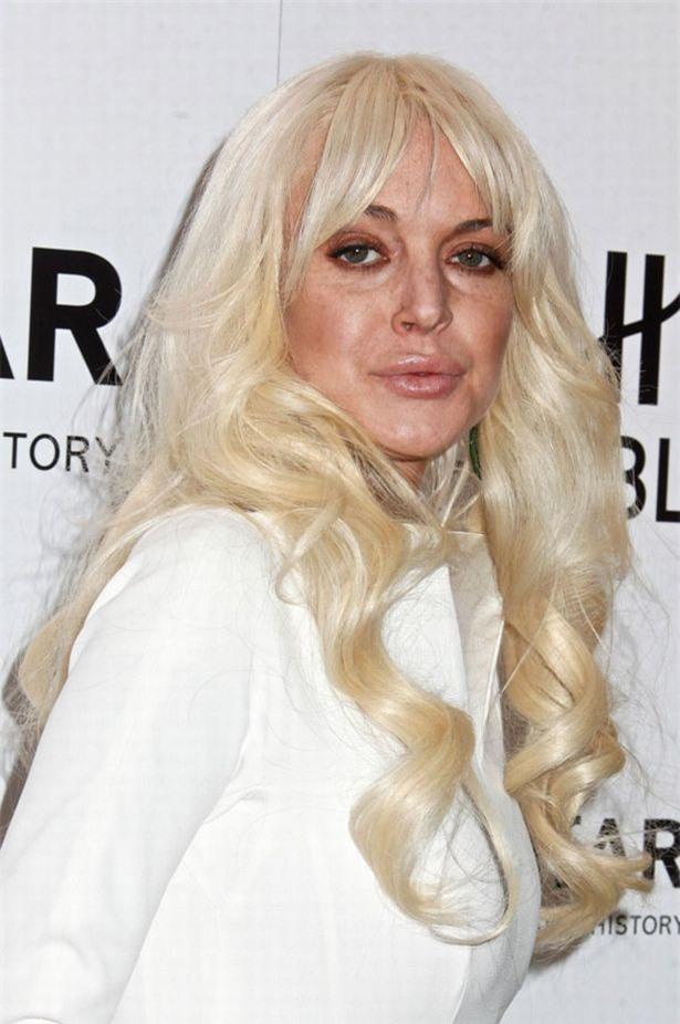 Lindsay Lohan - mỹ nhân đẹp nhất thế giới già nua như bà cụ ở tuổi 34 - Ảnh 5
