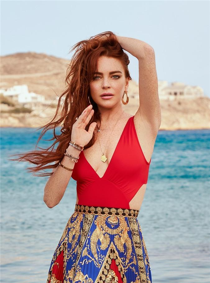 Lindsay Lohan - mỹ nhân đẹp nhất thế giới già nua như bà cụ ở tuổi 34 - Ảnh 7
