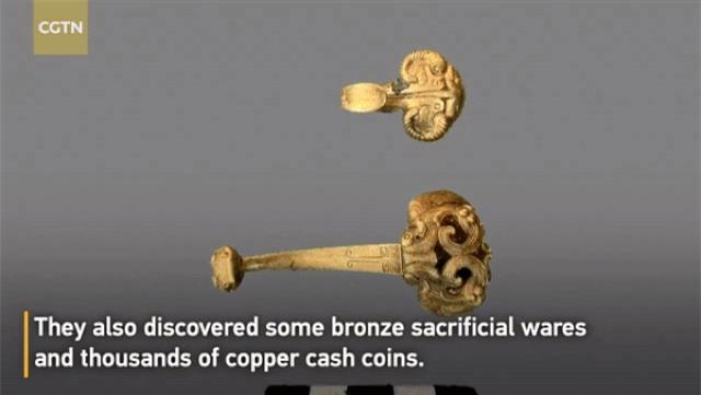 Phát hiện mộ cổ của các quan lại chứa nhiều đồ vàng bạc, ngọc bích quý hiếm - 2