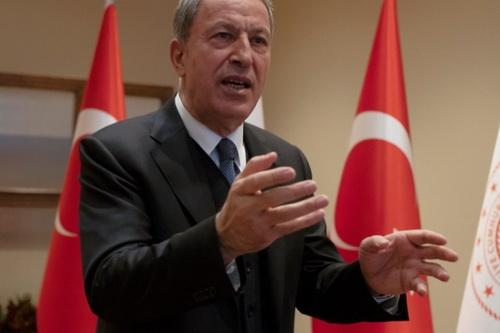 Bộ trưởng Quốc phòng Thổ Nhĩ Kỳ - Đại tướng Hulusi Akar. Ảnh Al Masdar News.