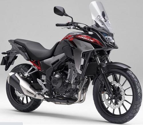 2020 Honda CB400X.