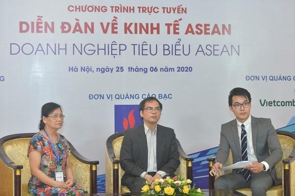 """""""ASEAN Economic Forum, Typical ASEAN Enterprises"""" took place in Hanoi on June 25, 2020."""