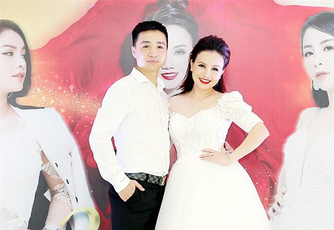 Diễn viên Hoàng Yến và ông xã Cao Thắng tại sự kiện tối 27/9.