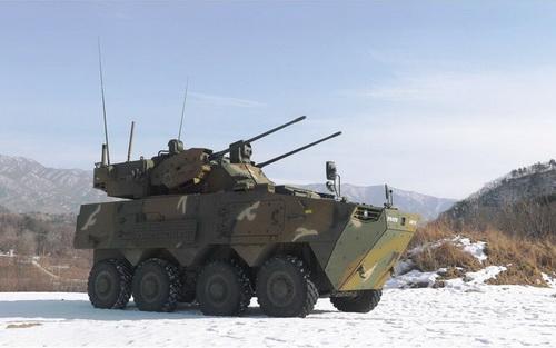 Quân đội Hàn Quốc sẽ được trang bị hàng loạt pháo phòng không tự hành thế hệ mới. Ảnh: Janes Land Warfare Platforms: Artillery & Air Defence.