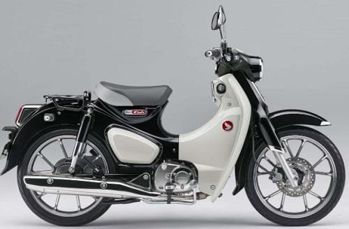 Honda vừa bổ sung thêm màu sắc đen mới cho Super Cub C125 2020.