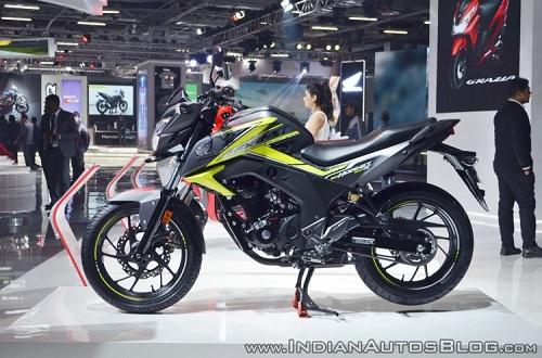Honda CB Hornet 160R.
