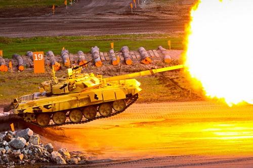 Quân đội Ai Cập bổ sung cho kho vũ khí của mình 500 xe tăng T-90MS bên cạnh 1.000 chiếc M1A1 Abrams. Ảnh: TASS.