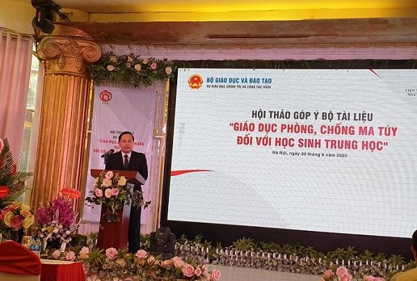 Ông Lê Trung Tuấn - Đại diện PSD phát biểu tại buổi hội thảo