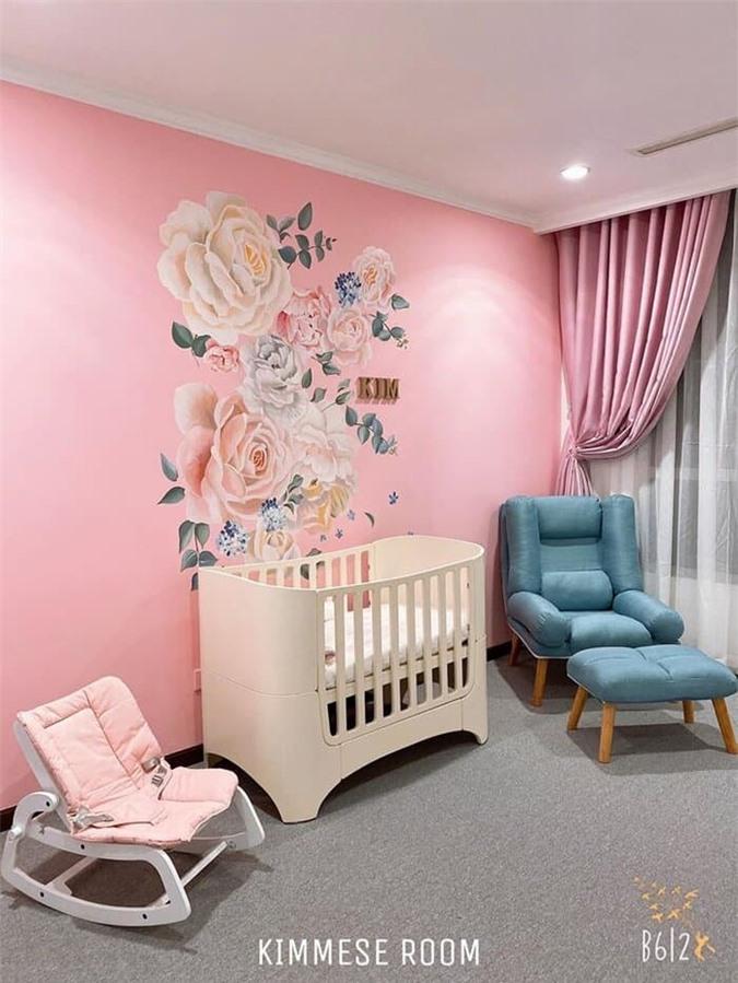 Hot girl Vân Navy hé lộ căn phòng chuẩn rich kid của con gái sắp chào đời 4