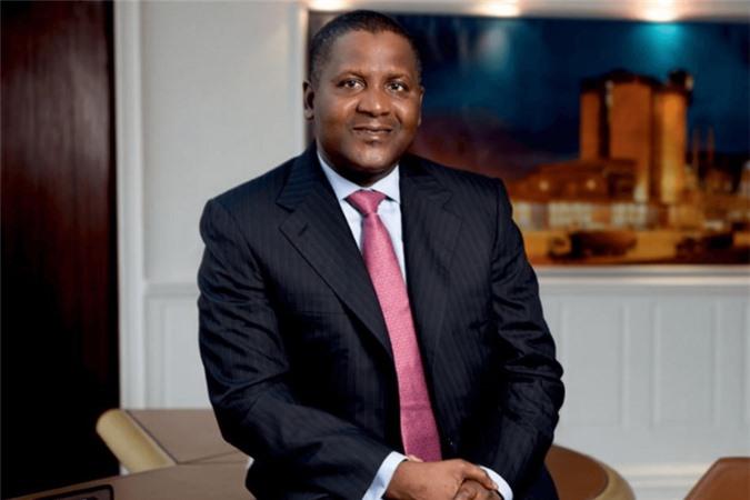 Tỷ phú da đen giàu nhất thế giới Aliko Dangote - Chủ tịch, CEO của Dangote Group, tập đoàn công nghiệp lớn nhất Tây Phi.
