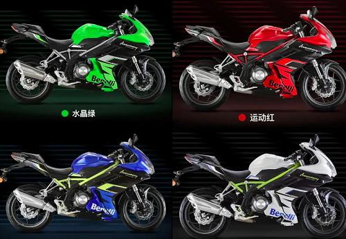 Các tùy chọn màu của Benelli 302R 2020
