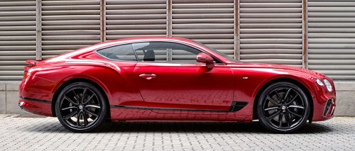 Continental GT V8 là một chiếc sedan Bentley vô cùng hiện đại bên trong