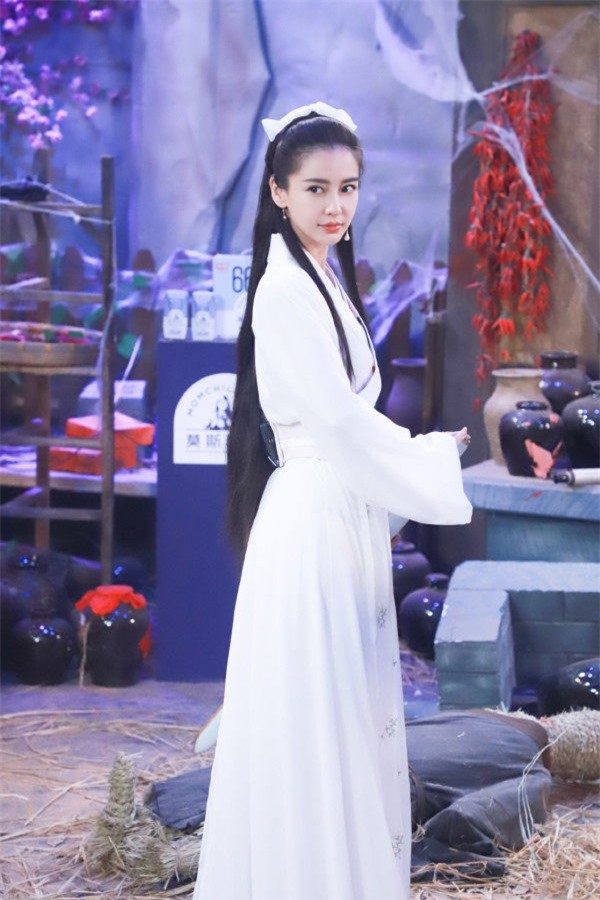 Angelababy suýt trở thành Tiểu Long Nữ của Vu Chính? - Ảnh 3.