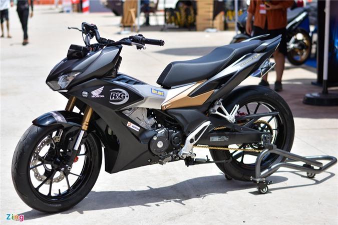 Can canh Honda Winner X voi dan chan Honda CB150R Neo Sport Cafe anh 1