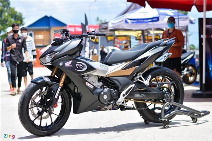 Can canh Honda Winner X voi dan chan Honda CB150R Neo Sport Cafe anh 13