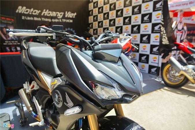 Can canh Honda Winner X voi dan chan Honda CB150R Neo Sport Cafe anh 3