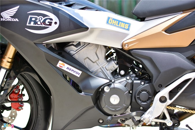 Can canh Honda Winner X voi dan chan Honda CB150R Neo Sport Cafe anh 8