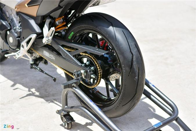Can canh Honda Winner X voi dan chan Honda CB150R Neo Sport Cafe anh 9