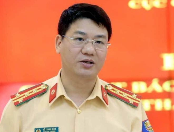 Đại tá Đỗ Thanh Bình, Phó Cục trưởng Cục CSGT cho biết, từ hôm nay các quyết định xử phạt vi phạm giao thông buộc phải nhập vào phần mềm và thông báo đến số điện thoại người dân.