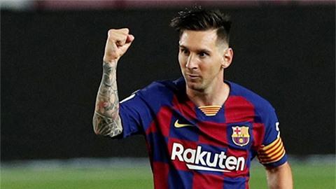 Messi đánh dấu gia nhập CLB 700 bàn bằng cú panenka