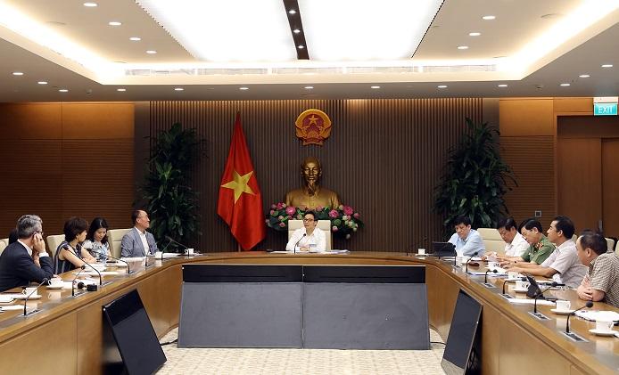 Phó Thủ tướng Vũ Đức Đam nhấn mạnh Việt Nam sẵn sàng đồng hành, đóng góp cùng thế giới trong phòng, chống dịch bệnh