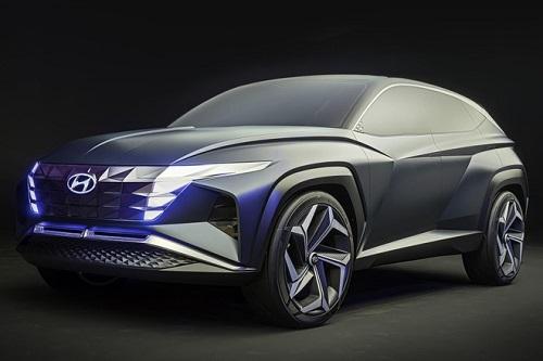 Lộ diện nội thất Hyundai Tucson 2021 hoàn toàn mới với màn hình cảm ứng siêu lớn