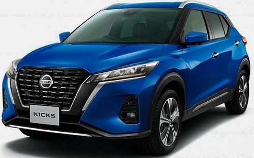 Nissan Kicks 2021 bản nâng cấp trình làng, nâng cấp ngoại hình, giá khởi điểm 600 triệu đồng