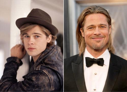 Hai lần được People bình chọn là người đàn ông quyến rũ nhất hành tinh (1995 và 2000), Brad Pitt trở thành hình mẫu bạn trai lý tưởng của nhiều cô gái. Nếu cách đây vài chục năm anh trông bụi bặm, lãng tử thì vẻ ngoài ấy càng có sức hút theo thời gian. Chồng cũ Angelina Jolie đã khiến xu hướng ăn mặc retro trên làn da rám nắng hấp dẫn chưa bao giờ lỗi mốt.