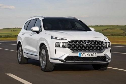 Thông tin chi tiết về nền tảng động cơ của SUV Hyundai Santa Fe 2021
