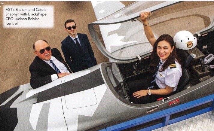 Tìm hiểu dòng máy bay Gabriel của Blackshape tại Singapore Airshow 2020. Ảnh: (Royal Aeronautical Society)