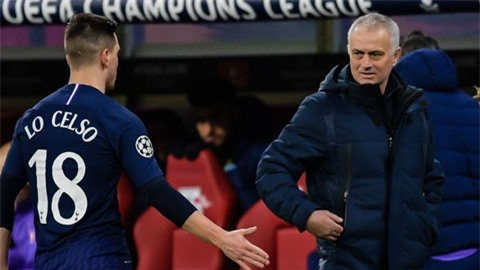 Mourinho: 'Tôi sẽ không đổi Lo Celso lấy Bruno Fernandes'