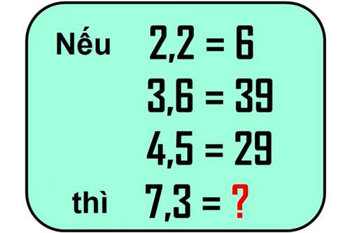 Bạn có đủ thông minh để tìm ra câu trả lời chính xác trong 15 giây?