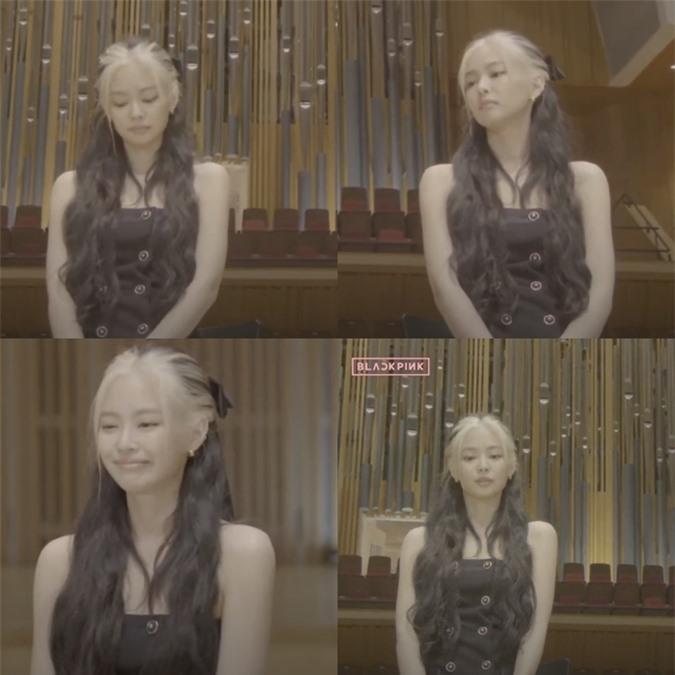Lisa lộ tóc mới, Jennie có biểu cảm 'lạ' trong họp báo comeback - Ảnh 3