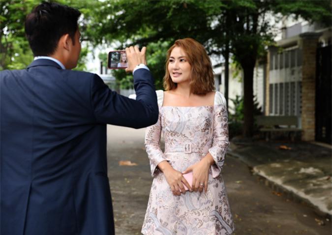 Huy Khánh rất vui khi được đồng hành cùng cô em thân thiết ở nhiều hoạt động.