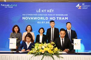 AZ Property Group trở thành tổng đạii lý phân phối dự án Wonderland của NovaWorld Hồ Tràm