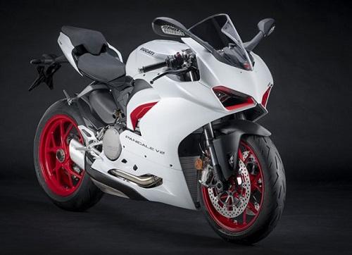 Ducati Panigale V2 White Rosso mới sẽ ra mắt vào tháng 8 tới
