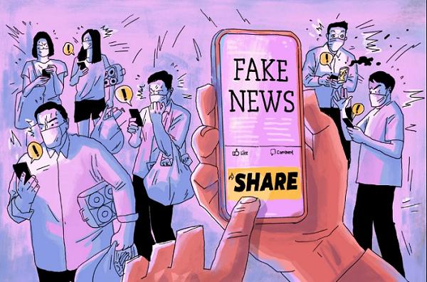 Rất nhiều những nội dung không được kiếm chứng đang được chia sẻ trên mạng xã hội, nhiều chuyên gia cảnh bảo đây cũng là một dạng đại dịch giống Covid-19