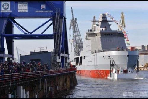 Đô đốc Mỹ: 'Tại sao Nga đặt Kalibr trên tàu phá băng?'