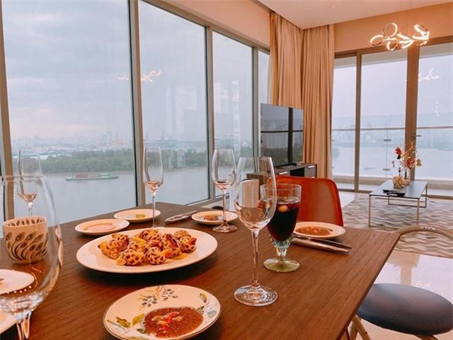 Được ăn tối trong không gian này quả là đáng mơ ước