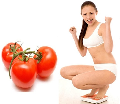 Giảm cân với cà chua