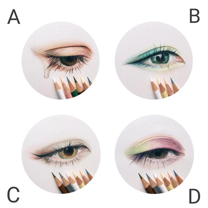 Bạn thấy con mắt nào đẹp nhất?
