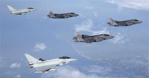 Radar manh ngang F-35 co giup Typhoon cai thien suc manh?