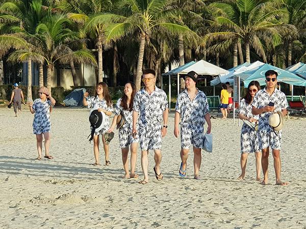 """Chương trình kích cầu du lịch """"Danang Thank you"""" đã giúp phục hồi nhanh và sớm lượng khách du lịch nội địa về lại TP Đà Nẵng (Ảnh: HC)"""