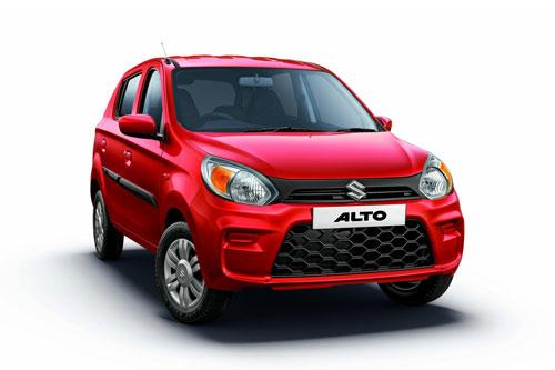 1. Suzuki Alto (doanh số: 7.298 chiếc).