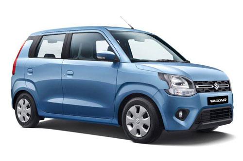 4. Suzuki Wagon R (doanh số: 6.972 chiếc).