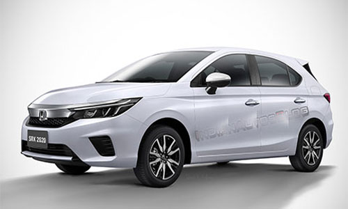 Honda City bản hatchback sắp ra mắt với nhiều nâng cấp đáng giá, khiến Toyota Yaris, Mazda 2 khiếp sợ