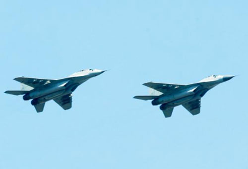 Trong ảnh: Máy bay chiến đấu MiG-29 (Ảnh: Alexander Ryumin / TASS)