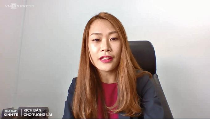 bà Phạm Nguyễn Ngọc Thương – Phó Tổng giám đốc BCGLand.