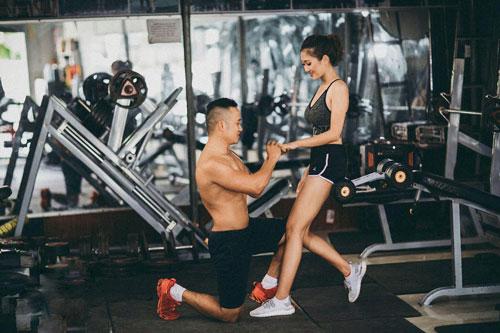 Đôi trẻ Nghệ An nên duyên sau 6 tháng hẹn hò ở phòng tập gym