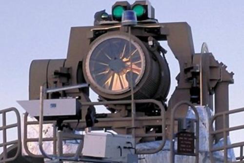 Pháo điện từ và pháo laser là hai loại vũ khí tương lai của Nga. Ảnh: TASS.
